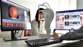 台灣創新技術博覽會 新技術助診斷糖尿病變「台灣創新技術博覽會」9月底登場,工研院展出「糖尿病視網膜病變AI診斷輔助分析系統」,它是國際唯一可偵測4種主要病徵,並清楚標示位置的人工智慧判讀技術。(工研院提供)中央社記者韋樞傳真 108年9月9日