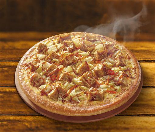 必勝客臭豆腐口味披薩。