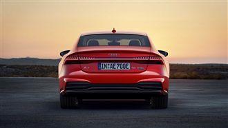 奧迪美型轎跑 新增油電動力