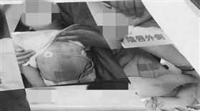 新北,虐童,女童,爆料公社(圖/翻攝爆料公社)