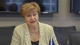 世界銀行9日表示,保加利亞經濟學家喬治艾娃(圖)是國際貨幣基金下屆總裁唯一候選人。她將在10月初接掌IMF,成為歷來第2位女性總裁。(圖取自twitter.com/kgeorgieva)