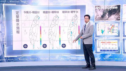 三立準氣象,中央氣象局,颱風,中秋節,吳德榮