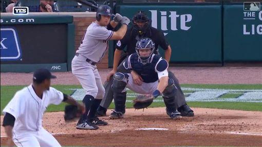 ▲賈納(Brett Gardner)敲出單場雙響砲。(圖/翻攝自MLB官網)