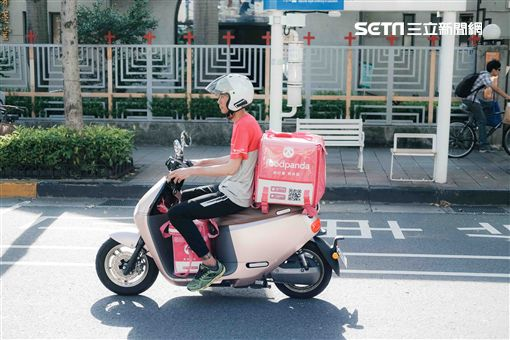 foodpanda,外送,外送員,Uber Eats,熊貓