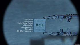 愛瘋11「史上最快晶片」來自台灣 A13仿生晶片