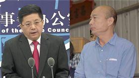 馬曉光,韓國瑜 組合圖/資料照、高雄市政府提供