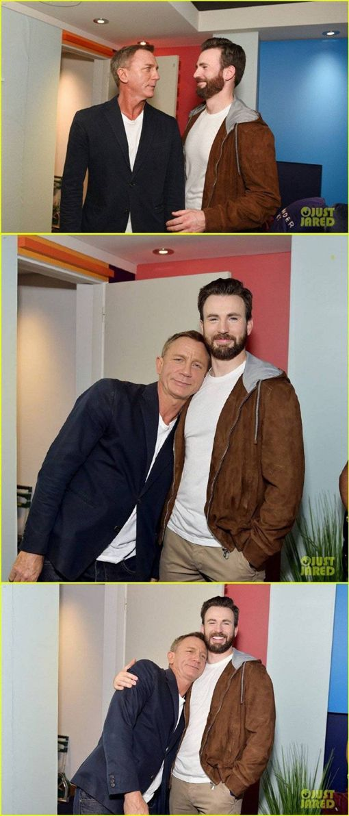 美國隊長 007 (IG、Just Jared)