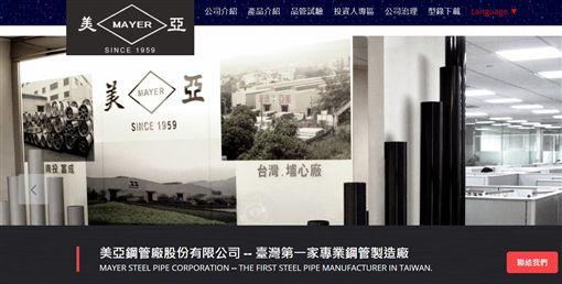 美亞鋼管董事長,美麗華家族成員黃春發,被控涉嫌以海外假交易,掏空3億多元公司資產。(圖/翻攝自美亞鋼管官網)