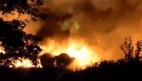 美國,俄亥俄州,墜機,失火,死亡。(圖/翻攝自FrolenceWalters推特)