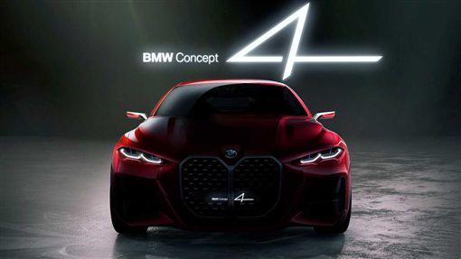 ▲BMW Concept 4。(圖/翻攝網站)
