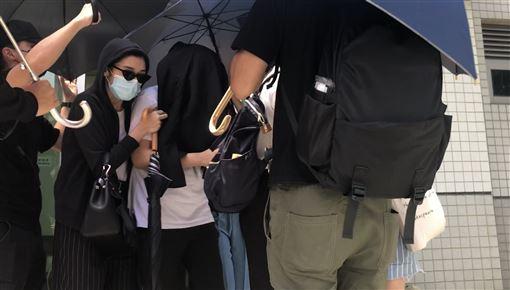 香港,反送中,國立東華大學,李倩瑩,遭警逮捕,修完學分(圖/中央社)