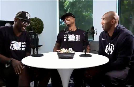 NBA/鬥牛能包夾?柯比神回笑翻網NBA,洛杉磯湖人,Kobe Bryant,包夾翻攝自推特Ballislife.com