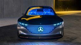 ▲Mercedes-Benz Vision EQS(圖/翻攝網路)