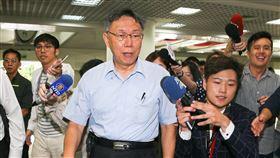 台北市,柯文哲,同意,廢止,印花稅,提出,相關措施(圖/中央社)
