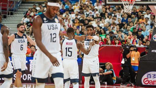 世界盃美國男籃,美國隊。(圖/翻攝自美國男籃官方推特)