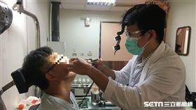 鼻塞數月…他以為是過敏 一檢查鼻腔全腫瘤!竟患罕見癌症 圖/南投醫院提供