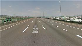 彰化,國道,稀硫酸,和美,液體外洩(圖/國道3號彰化路段/翻攝自google map)