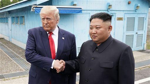美國,川普,金正恩,見面,非核化談判(圖/路透社/達志影像)