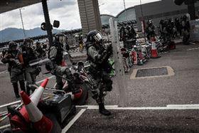 香港,反送中,百名學生,被捕,示威者(圖/中央社)