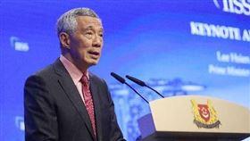 新加坡,李顯龍,中共中央政治局委員,陳敏爾,支持,一帶一路(圖/中央社)
