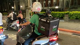 uber eats,外送員,記者劉沛妘攝