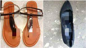 DIY撒在女鞋上!「戀鞋癖」變態自白:鞋墊軟軟好舒服…(圖/翻攝自新靠北中華)