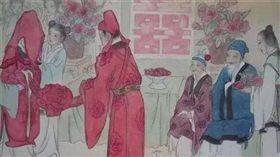 古代,婚姻,結婚。(圖/翻攝自微博)