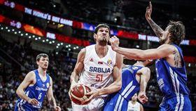 世界盃男籃賽,捷克,塞爾維亞(圖/翻攝自推特)