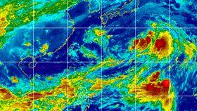 西太平洋3低壓中心 圖翻攝自cimss