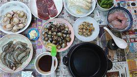 中秋節,烤肉,兒子,暗黑料理,調理鍋(圖/翻攝自爆怨公社)