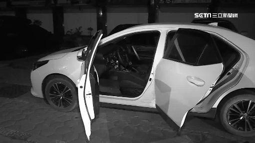 開著贓車去偷車...把風的被抓 偷車的跑了