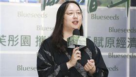 唐鳳出席芙彤園洗沐產品記者會。(圖/記者林士傑攝影)