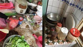 (圖/翻攝自爆系知識家)廚房,婆家,髒汙,清潔