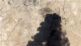 沙烏地阿拉伯,煉油廠,石油,無人機攻擊,阿美石油,川普(圖/美聯社/達志影像)