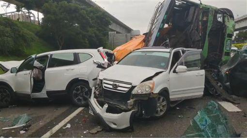 國道一號,車禍,連環撞