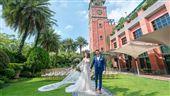 戶外證婚夯!酒店推皇家花園婚禮體驗