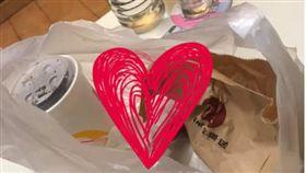 外送,麥當勞,外送員,塑膠袋(圖/翻攝自臉書/爆怨公社)