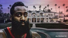 NBA/破壞豪宅!哈登遭求償9百萬 NBA,休士頓火箭,James Harden,豪宅,詐欺 翻攝自推特ClutchPoints