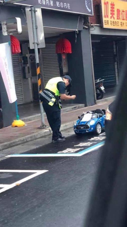 貨車格,違規停車,拖吊,玩具車,警察,士林
