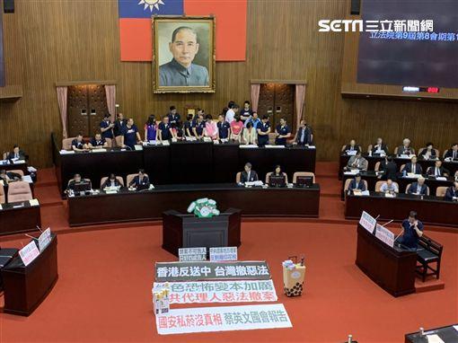 立法院開議 國民黨杯葛 記者張之謙攝影