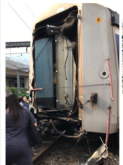 香港,港鐵,紅磡,東鐵線,出軌(圖/翻攝網路)