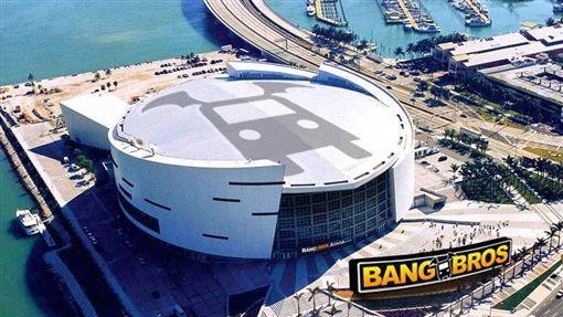 NBA/豪砸3億!A片商想冠名主場NBA,邁阿密熱火,BangBros翻攝自推特