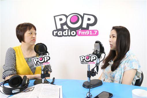 永齡基金會執行長劉宥彤,接受《POP搶先爆》主持人邱明玉專訪,《POP搶先爆》提供