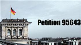 臉書粉專「TaiwanWarmPower」呼籲台灣人一起連署「德國聯邦議會第95643號請願書」,支持「請求德國與我國建立外交關係」。(圖/翻攝自「TaiwanWarmPower」臉書)