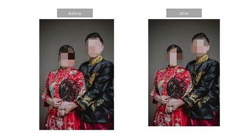 台北,婚紗,投訴,包套,修圖(圖/投訴者提供)