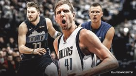 NBA/德佬:歐洲雙少將率隊發光 NBA,達拉斯獨行俠,Dirk Nowitzki,Kristaps Porzingis,Luka Doncic 翻攝自推特