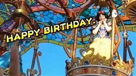 集「生日貼紙」遊東京迪士尼!享夢幻公主待遇…走路有風(圖/翻攝自欸你這週要幹嘛YouTube)