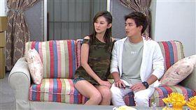 陳珮騏今在《炮仔聲》中秀出一雙辣長腿。