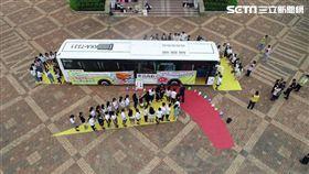 台南市交通大隊前往學校舉辦大型車輛體驗活動(警方提供)