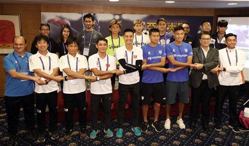 ▲亞洲大學足球賽開幕。(圖/台南市政府提供)